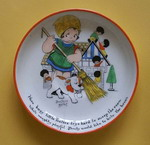 Beatrice Mallet Child's Saucer by Paragon China - (Sold)