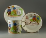 Paragon China Dutch Children Design trio