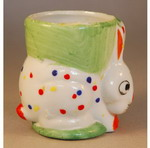 1930s Egg Cup modelled as an Easter Bunny Rabbit
