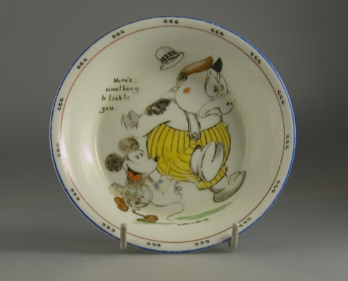 Early Mickey Mouse Bowl by Paragon China - (Sold)