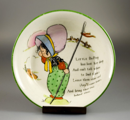 Paragon Mother Goose Series Bowl by Chloe Preston - (Sold)