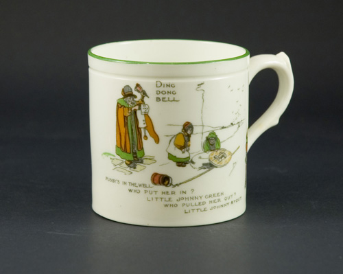 Paragon Nursery Rhyme Mug by John Hassall - (Sold)