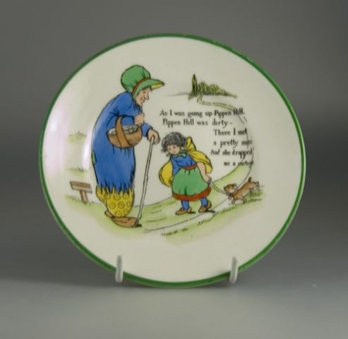 Paragon Mother Goose Series Tea Plate by Chloe Preston - (Sold)