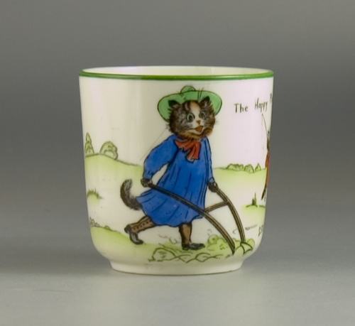 Paragon Tinker Tailor Series Cup by Louis Wain (Sold)