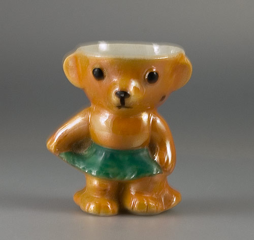 1930s Rocking Teddy (girl) Egg Cup
