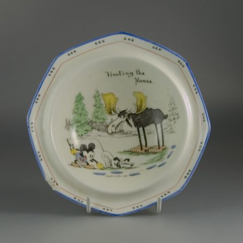 Early Mickey Mouse Bowl by Paragon China (Sold)