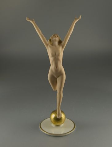Art Deco Figurine Sonnenkind (Sun Child) by K. Tutter - (Sold)