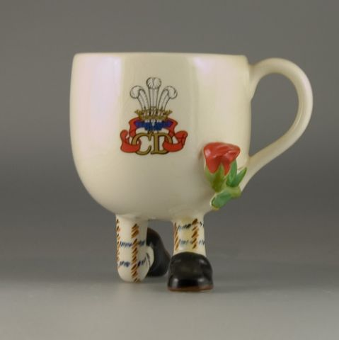Commemorative Charles & Diana kneeling Cup (Sold)