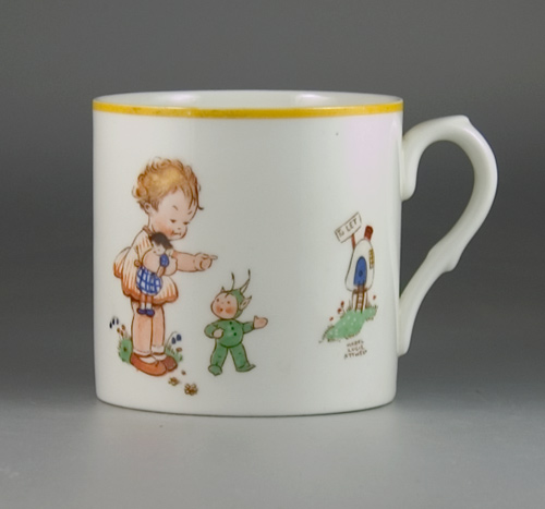 Shelley China (large size) Mug by Mabel Lucie Attwell - (Sold)
