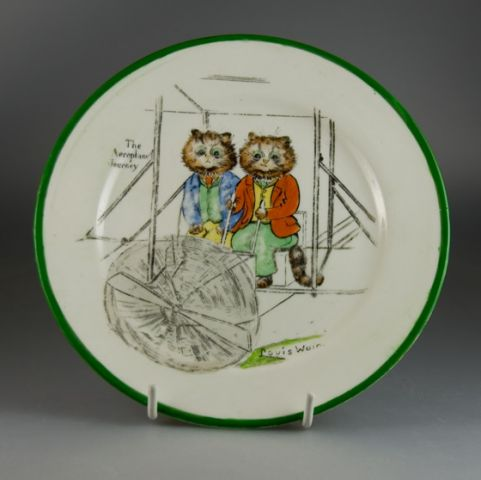 Paragon China Tinker Tailor Series Plate by Louis Wain (Sold)