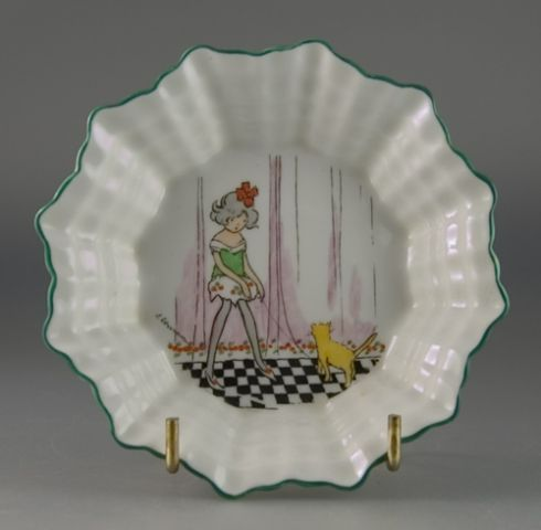 Shelley China trinket dish designed by Hilda Cowham (Sold)