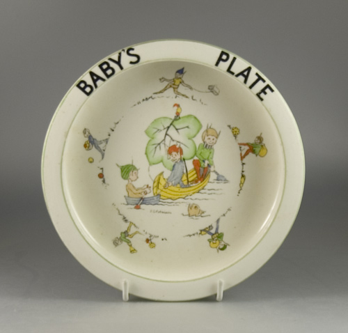 Paragon China Baby's Bowl by J. A. Robinson