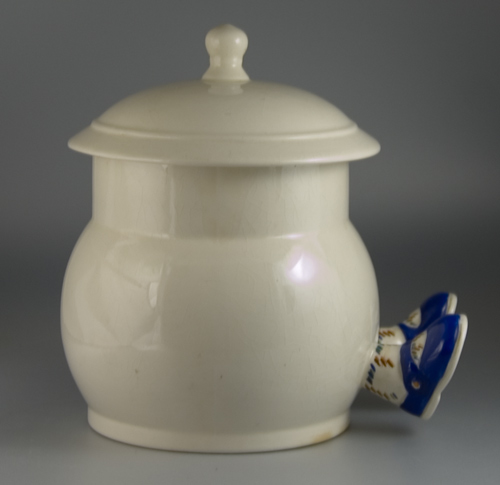 Carlton Ware Walking Ware Biscuit Barrel and Lid