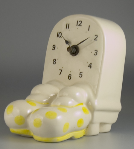 Carlton Ware Walking Ware Bigfoot Clock