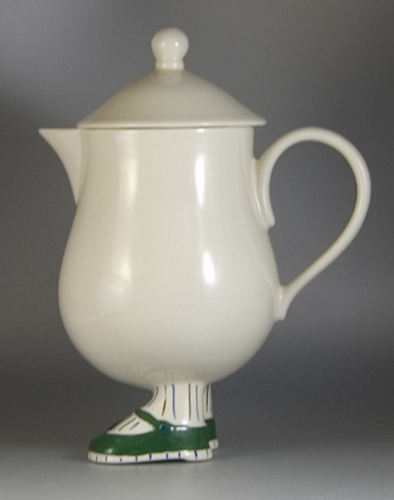 Carlton Ware Walking Ware Coffee Pot and Lid - (Sold)