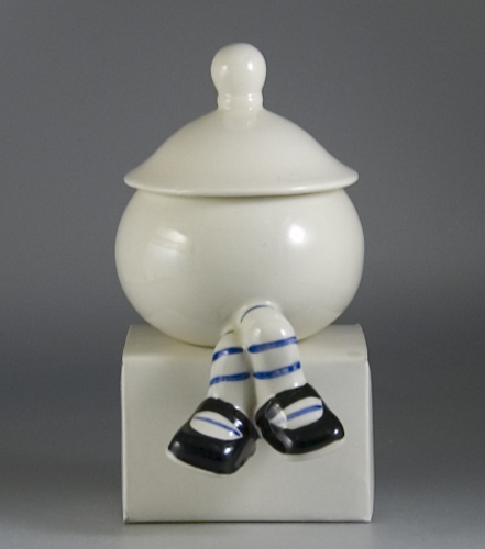 Carlton Ware Walking Ware Seated Sugar Bowl & Lid (Sold)