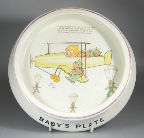 1920's/1930's Shelley Baby's Bowl by Mabel Lucie Attwell - Sold