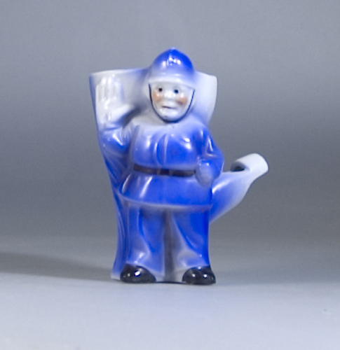 "Scarce 1920s ""Policeman"" Whistle Egg Cup - (Sold)"