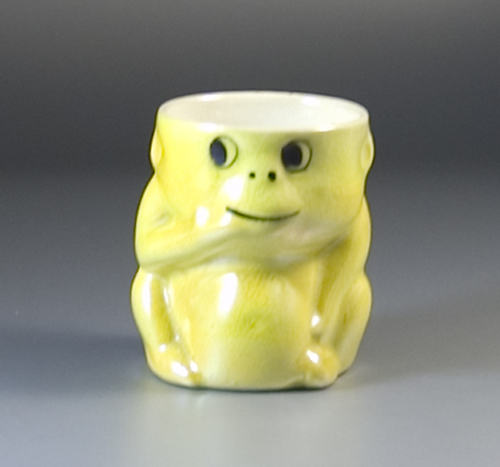 1930s Egg Cup Modelled as a Seated Monkey