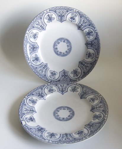 Pair of Gothic Revival Dinner Plates - Sold [367] - £0.00 ...