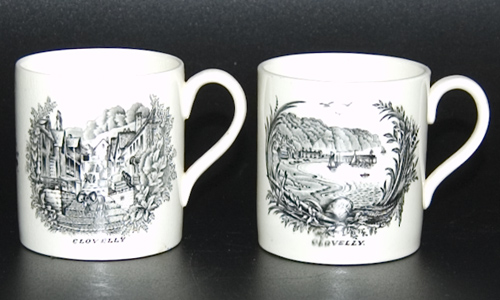 Wedgwood Coffee Cans and Saucers designed by Rex Whistler