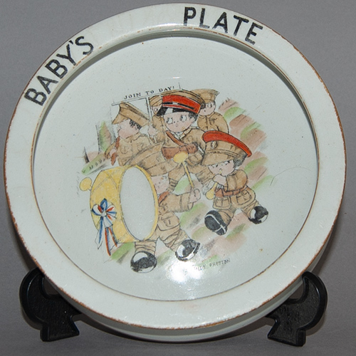 Paragon Peek-a-Boo Baby's Plate designed by Chloe Preston